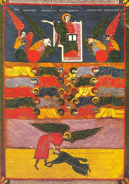 The BEATUS OF FACUNDUS (1047) In the the 8th century, in a monastery in the mountains of northern Spain, 700 years after the Book of Revelations was written, a monk named Beatus set down to illustrate a collection of writings he had compiled about this most vivid and apocalyptic of the New Testament books