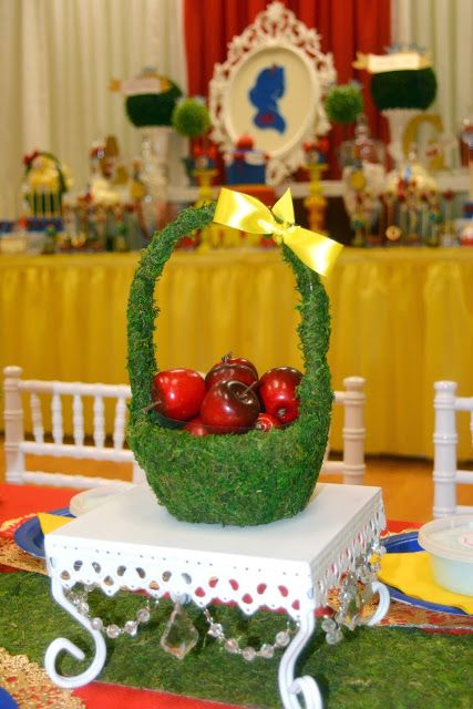 Snow White Party Centerpieces Snowwhiteparty