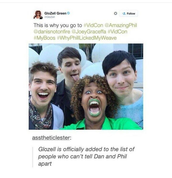 Tumblr YouTube Danandphilgames Amazingphil Danisnotonfire Glozell Joey Graceffa