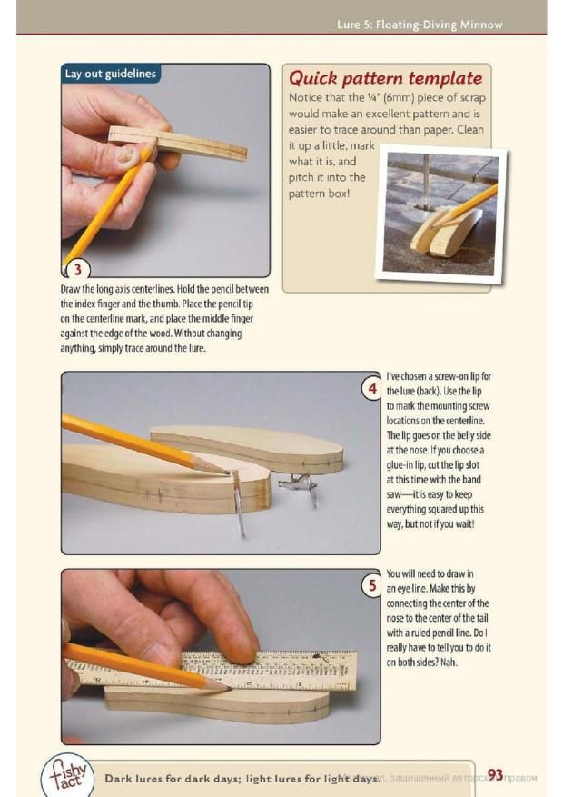Making Wooden Fishing Lures                                                                                                                                                                                 More