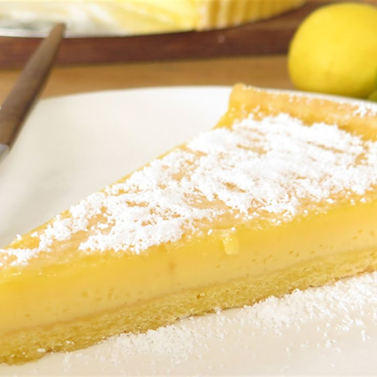 Try this Lemonade Tart  recipe by Chef Paul West . This recipe is from the show River Cottage Australia.