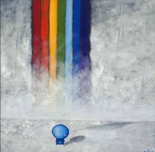 Big Rainbow - Tony Cribb