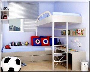 quarto pequeno como organizar