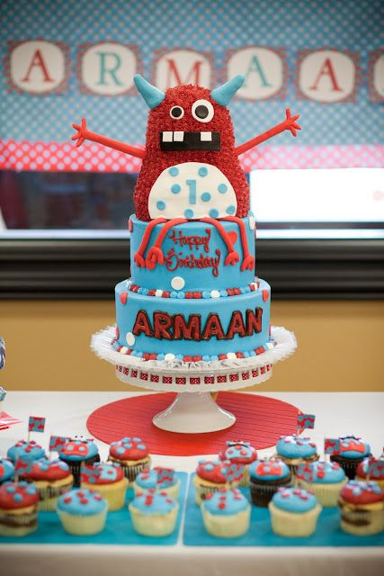 tickle monster cake - Bing Images