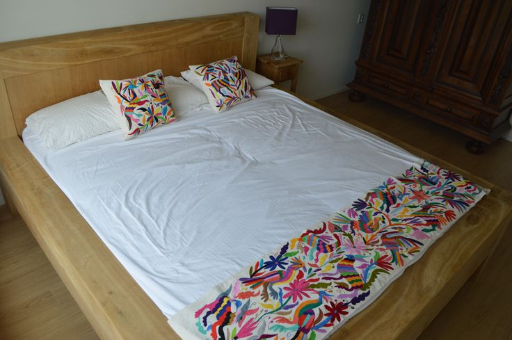 29 best otomi mexico crafts store images on pinterest Mexican embroidered bedding