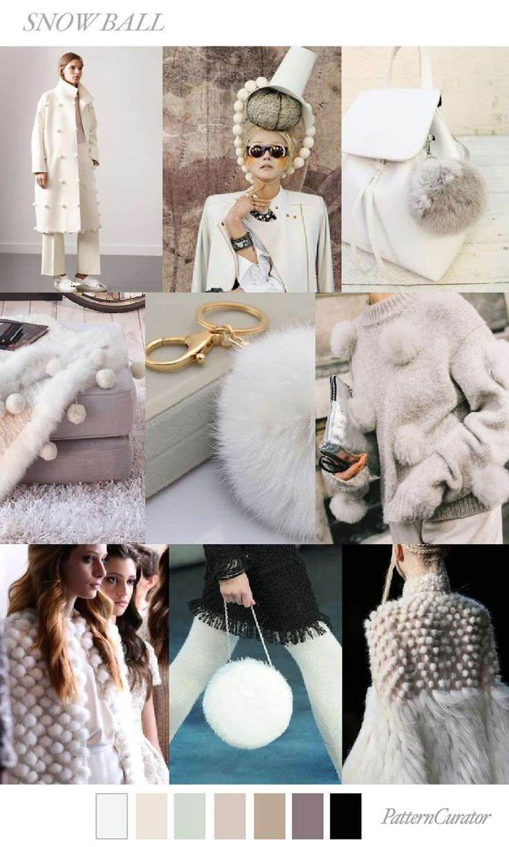 TRENDS // PATTERN CURATOR - SNOWBALL . FW 2018