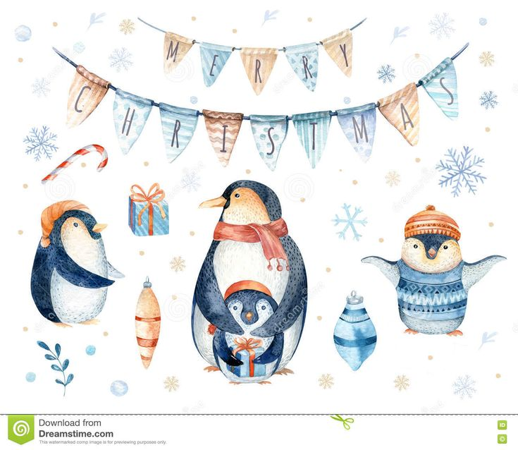 Merry Christmas  Lettering With Watercolour Fun. - Download From Over 53 Million High Quality Stock Photos, Images, Vectors. Sign up for FREE today. Image: 81379575