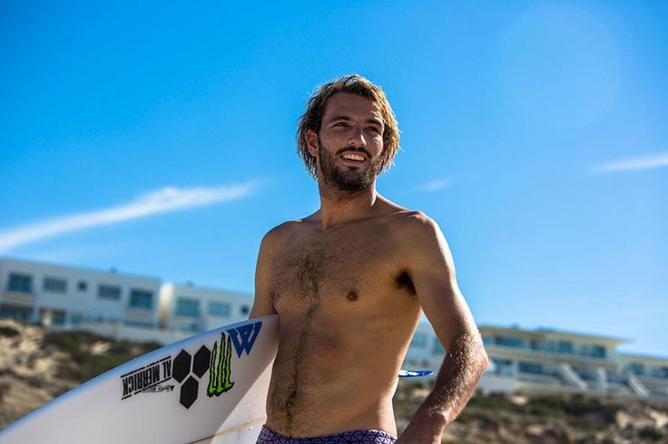 He's been known to knock Slater out of competition in the past, he's quickly climbing the 'QS ranks, and he's the 2015 Rip Curl Pro Portugal wildcard Frederico Morais. Photo: Van Gysen