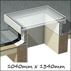 EG R16 - Glass Roof Skylights (1040mm x 1340mm Double Glazed)