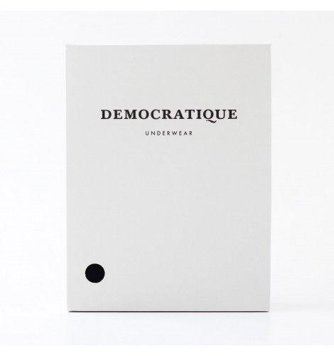 DEMOCRATIQUE UNDERWEAR Superior Boxer Brief 2-pack BLACK / черный