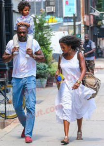 Actor Idris Elba Is Photo'd Out With His SON . . . And Little Man Is Just ADORABLE!!!