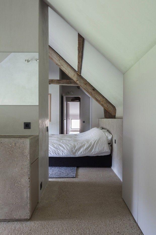Transformation d'un fort en maison en Belgique par le studio Govaert & Vanhoutte - Journal du Design