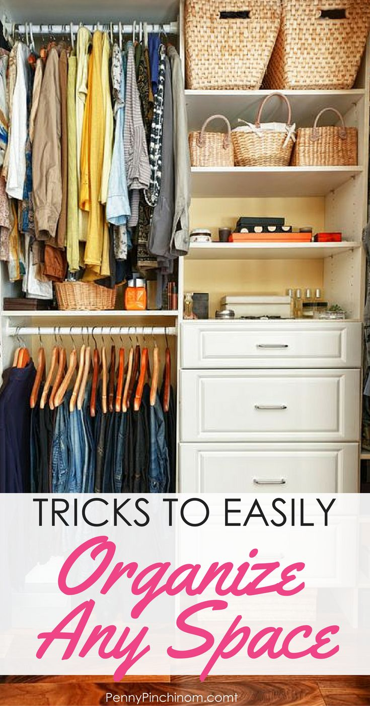 How To Organize Your House By Cleaning And Decluttering Every Closet, Draw  And Space Organize