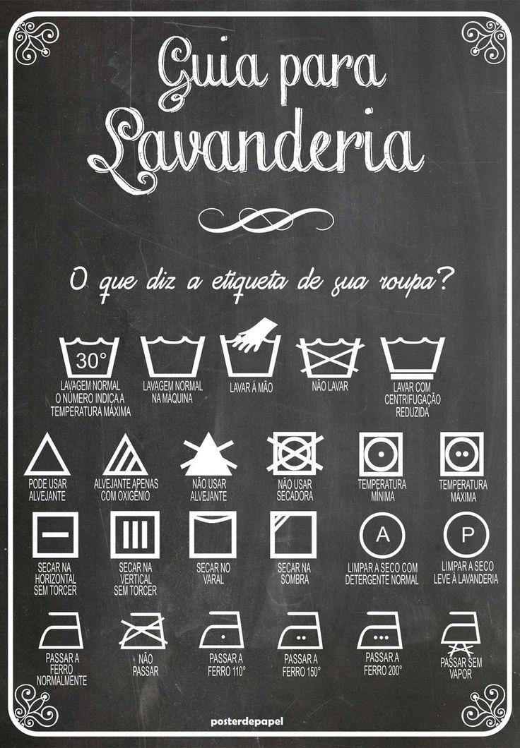 Poster Lavanderia Lousa