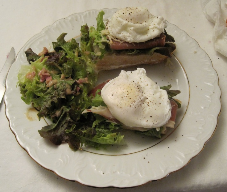 Poached Egg and Prosciutto Open-Faced Sandwich | Practical Cooking ...