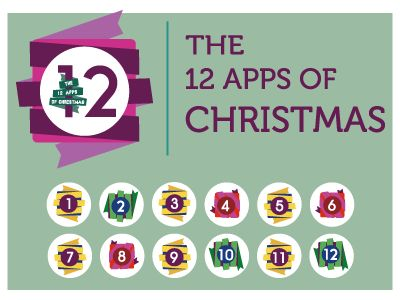 The 12 Apps Project by Trevor Boland