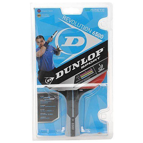 Dunlop Unisex Revolution 6500 Paul Drinkhall Table Tennis Bat Advanced Concave by Dunlop. Dunlop Unisex Revolution 6500 Paul Drinkhall Table Tennis Bat Advanced Concave. One Size. -.