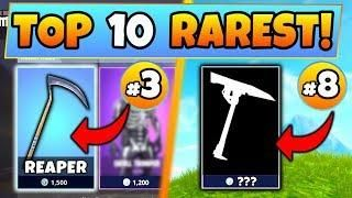 Fortnite Skins Top 10 Rarest Pickaxe Skins 1 Is Crazy Battle