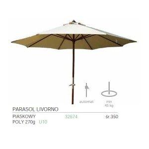 Parasol ogrodowy LIVORNO