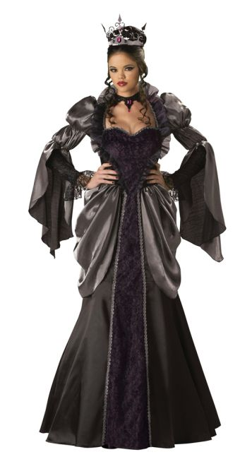 Böse Königin Kostüm Deluxe
