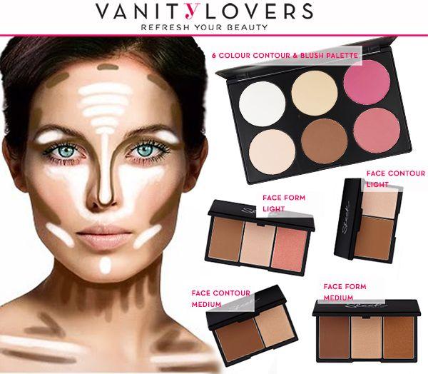 Il Contouring, questo sconosciuto… è più semplice di quanto si pensi! Cosa ti serve? Questa immagine e i prodotti giusti! Li trovi su VanityLovers! http://www.vanitylovers.com/prodotti-make-up-viso/illuminanti-contouring-viso.html?utm_source=pinterest.com&utm_medium=post&utm_content=vanity-contouring&utm_campaign=pin-vanity