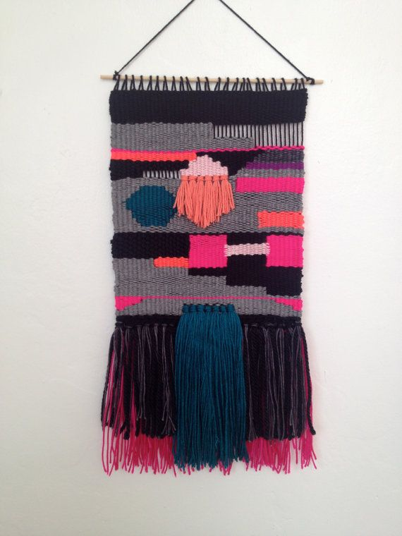 Weaving Tapestry Wall Hanging by FarronFeiner on Etsy