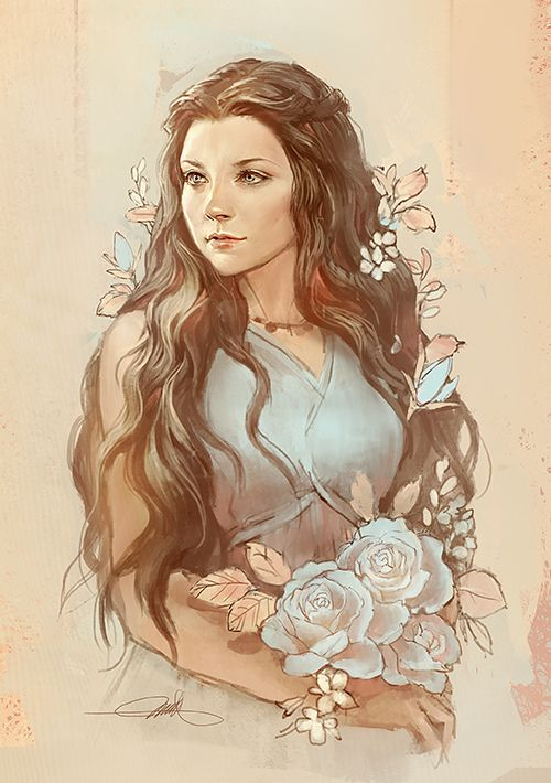 Gorgeous Margaery Tyrell Fanart Game of Thrones #got #asoiaf #SongOfIceAndFire