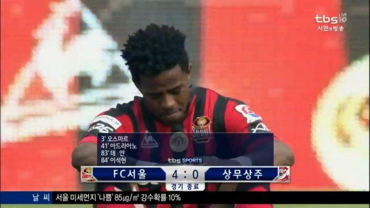 K League Classic 20-3 FC Seoul vs. Sangju Sangmu