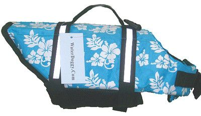 Blue Hawaiian Dog Life Jacket Pink Dog Life Vest Now in XXL | eBay