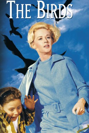 Alfred Hitchcock's 'The Birds', 1963 - Starring Hitchcock newcomer, Tipp Hedren.