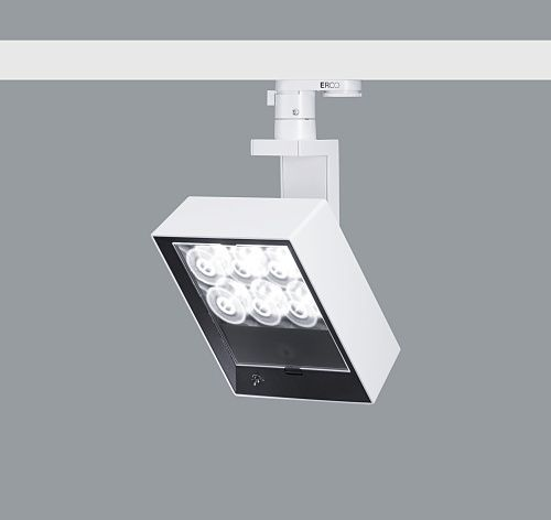 (SP1) LED Lens wall washer track mounted light, Raylinc Erco Light Board