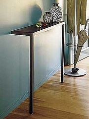love this table for our narrow entry way!