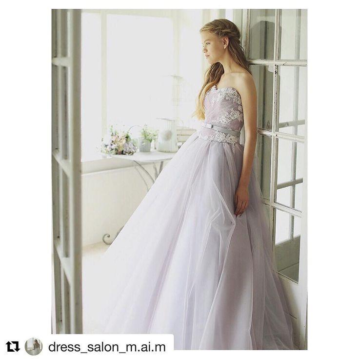 今大人気のスモーキーのカラードレスグレーとか紫とかの色合いが花嫁さまに大人気だそうです 絶妙なグラデーションとチュールが織りなすふんわり感が可愛らしく仕上がるドレスです  ご試着予約ご相談は.  @beautybride_weddingdress 0120-511-530  BeautyBrideを通じてマイムのドレスを予約するとWEBでは非公開ですがとってもとってもお得にレンタルできる特典ございます   #プレ花嫁 #ドレス迷子  #花嫁会 #日本中のプレ花嫁さんと繋がりたい #カラードレス #お色直し #ドレス試着 #ドレスレポ #カラードレス迷子  #ちーむ1203 #ちーむ1204 #ちーむ1210 #ちーむ0114 #ちーむ0115 #ちーむ0122 #ちーむ0128 #ちーむ0129 #ちーむ0204 #ちーむ0205 #ちーむ0211 #ちーむ0212 #ちーむ0218 #ちーむ0219 #ちーむ0319 #ちーむ0408  #Repost @dress_salon_m.ai.m with @repostapp  2016.9.22…
