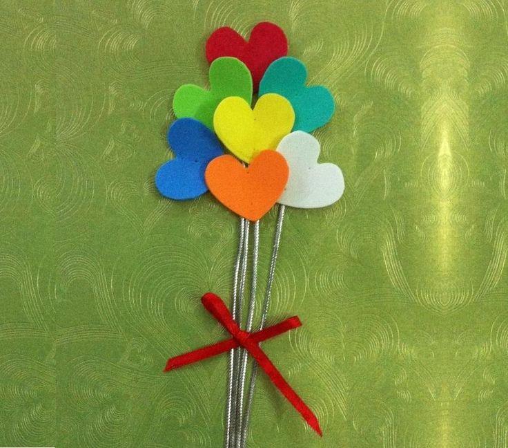 DIY Tutorial Valentines Crafts Day Card Idea
