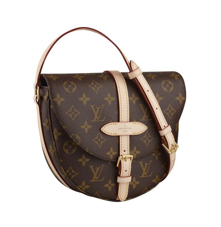 Louis Vuitton's Chantilly bag in Monogram canvas.