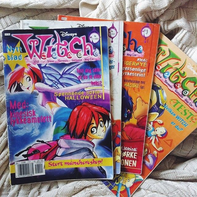 .@Ardis Margrethe | I finally manage to get the first issues of witch, my favorite cartoon as child | Webstagram