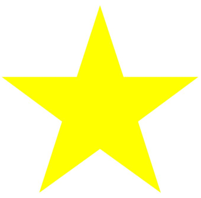 This is a graphic of Modest Printable Yellow Stars
