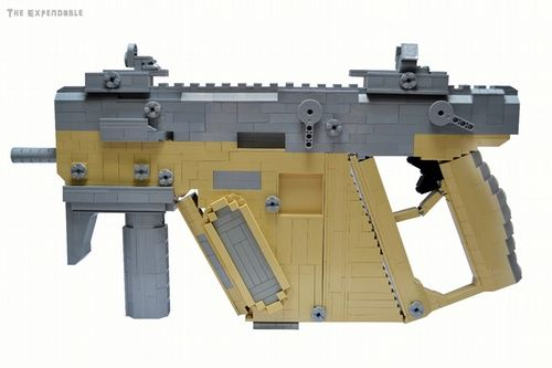 KRISS TDI Vector: A LEGO® creation by The Expendable . : MOCpages.com