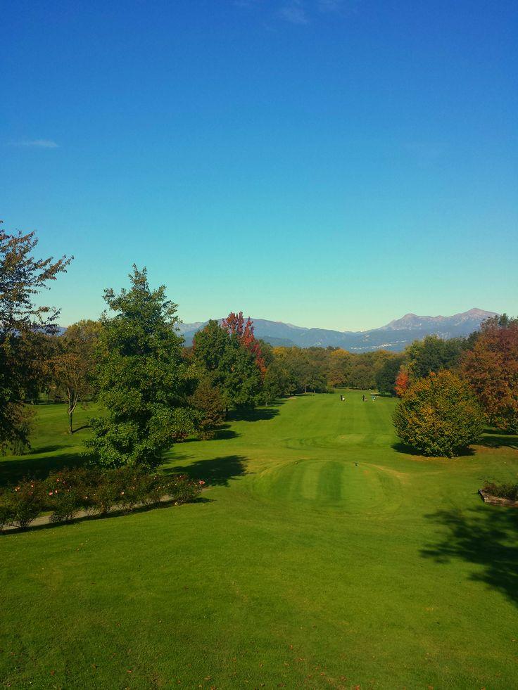 Hole 1. Golf Club Udine, Italy.