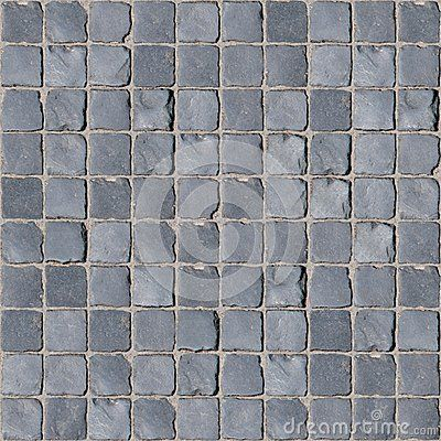 A natural gray rock pavement, laid in a regular seamless pattern. Best used for street paving and pedestrian sidewalks in an old city. The texture is a perfect tile without visible repetition, suitable for closeups views.