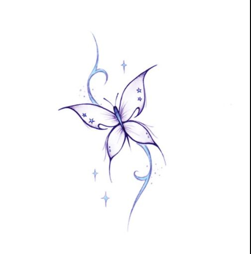 Drawing ideas butterfly drawing pinterest for Small drawing ideas