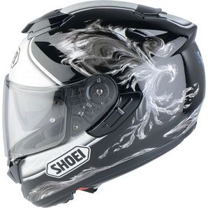 Shoei gt air - Comfortable, quiet, great features.  Very happy on road and track.