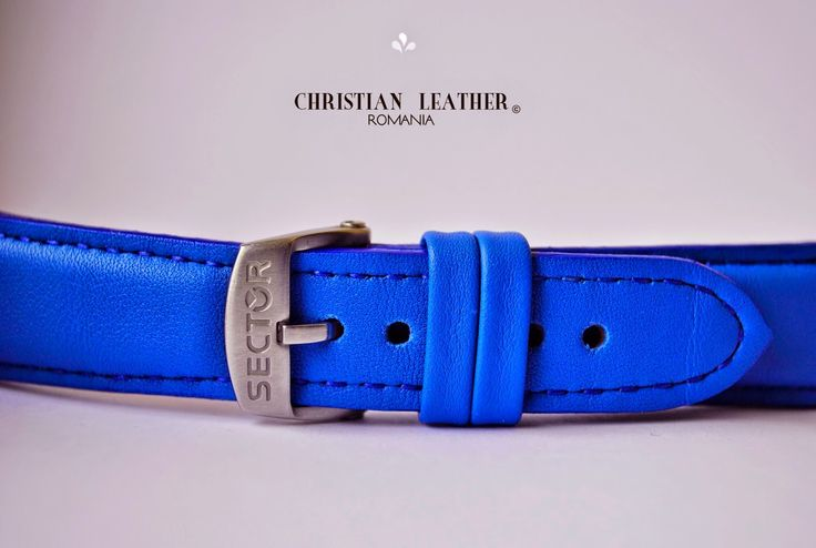 Electric Blue ‪#‎handmade‬ ‪#‎leatherstrap‬ for ‪#‎Sector‬ ‪#‎watch‬ ---- Join me on my Instagram for more updates ---- Happy Spring Everyone!!!   Business inquiries & orders at:    ~ christianstraps@gmail.com or cureledeceas@gmail.com     ~ Whatsapp: +40 737 472 022      ~ Instagram: christianstraps