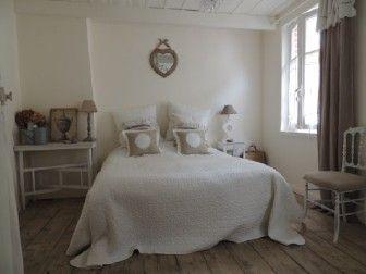idee deco chambre couleur lin romantique 336x252 idee deco chambre couleur lin - Decoration Chambre Adulte Couleur Lin