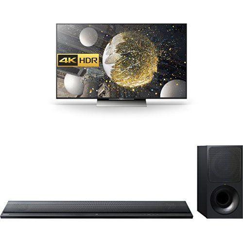 Sony Bravia Kd55xd8005 55 Inch Android 4k Hdr Ultra Hd Smart Tv Ht-ct390 300 W Soundbar