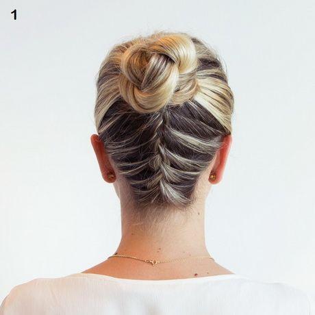 Haare am hinterkopf flechten