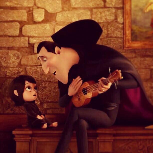 Hotel Transylvania - the ukulele was played by ukulele hero Aldrine Guerrero