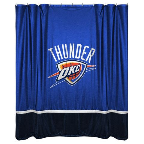 Use this Exclusive coupon code: PINFIVE to receive an additional 5% off the Oklahoma City Thunder Shower Curtain at SportsFansPlus.com