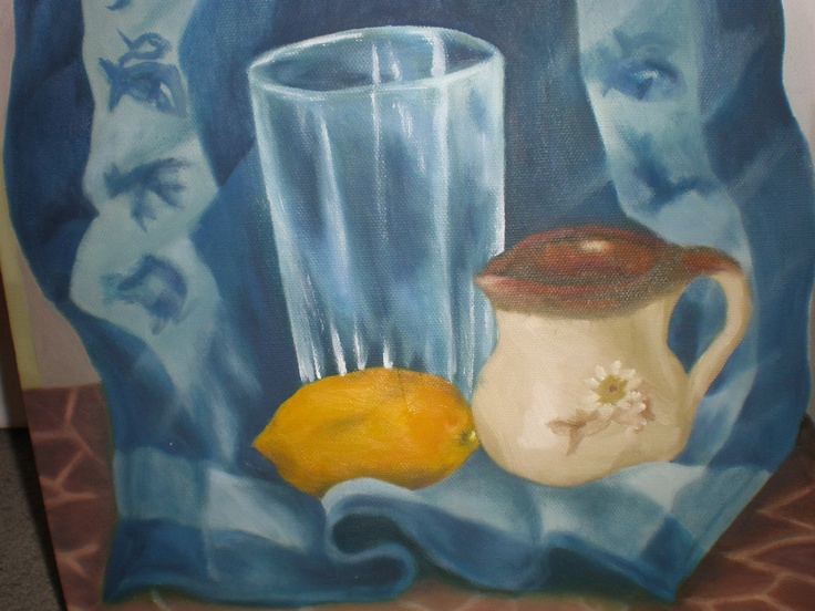oil - still life exercise 2013