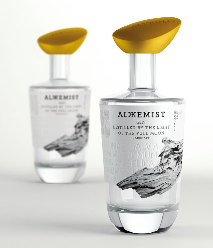 ALKKEMIST Gin - seriesnemo. This is wild #gin #packaging PD